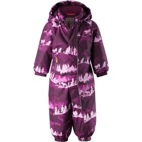 Reima Puhuri Overall Kinder deep purple